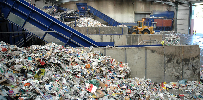 Recyling plant in Perth