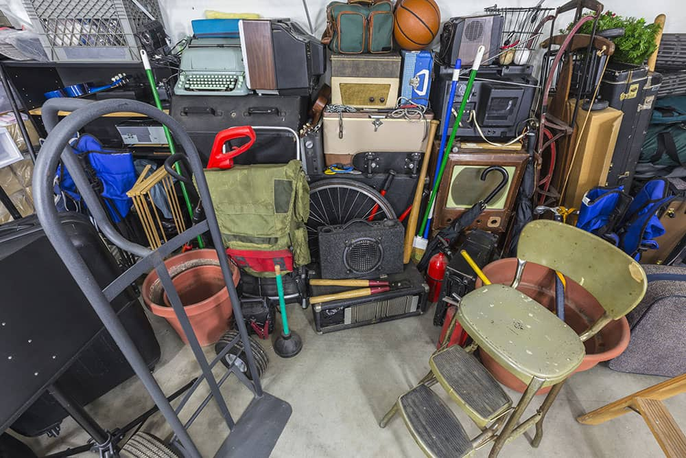 declutter your home with a garage sale